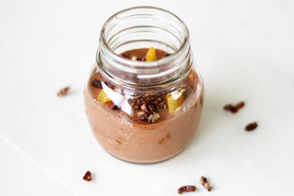 Orange-chokolade-mousse