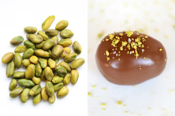 Påskeæg med pistacienødder