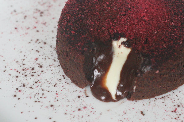 Chokolade lavakage