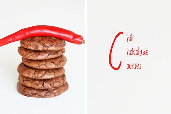 Cookies med chokolade og chili