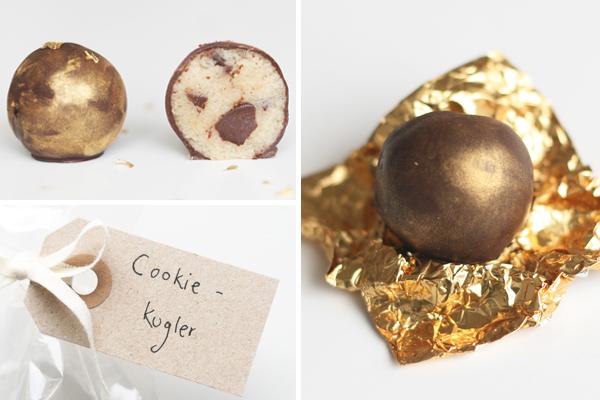 Cookie dough kugler