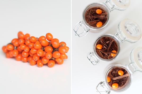 Vandmousse - med Amedei 9 chokolade og havtorn