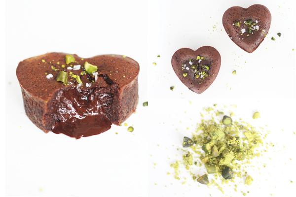 Chokolade lava kage
