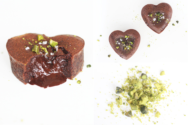 Nytårsdessert: chokolade lava kage