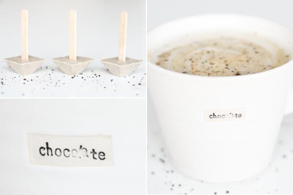 Varm hvid chokolade med lakrids