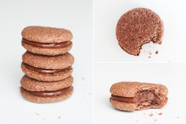 Chokolade maroni - mandelkager