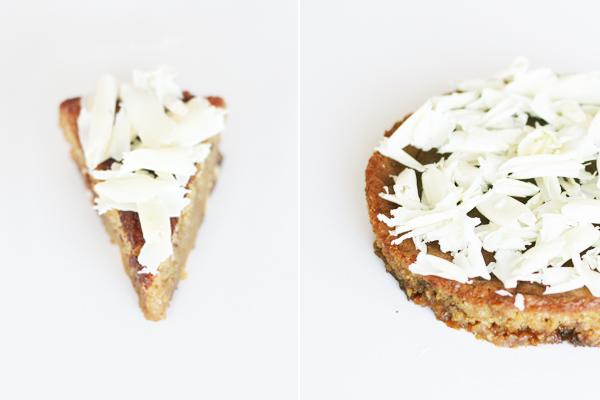 Glutenfri lakridskage med hvid chokolade