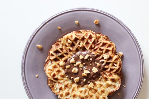 Glutenfrie peanutvafler