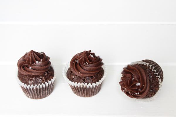 Saltkaramel cupcakes