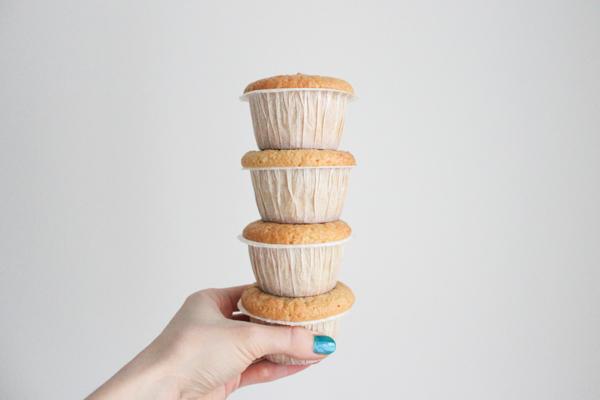 Glutenfrie cashewmuffins med nutella