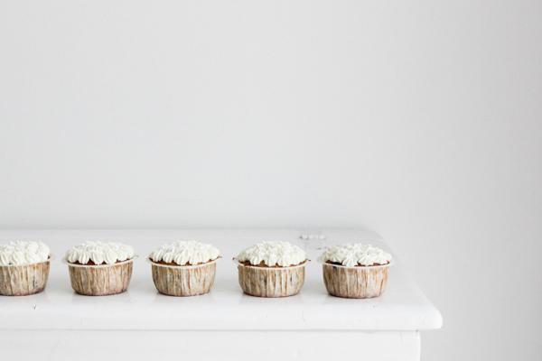 Gulerodscupcakes