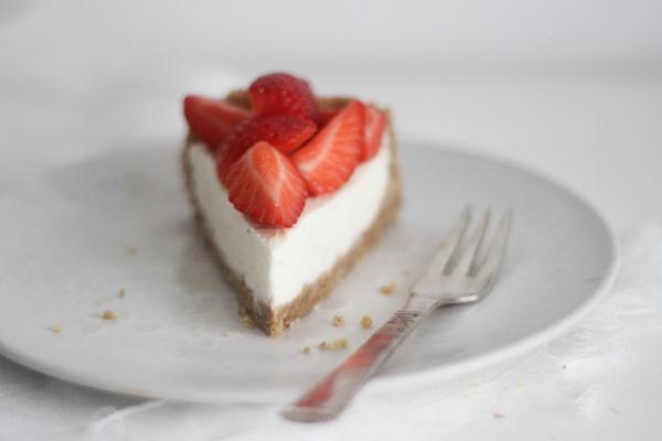 Cheesecake med skyr