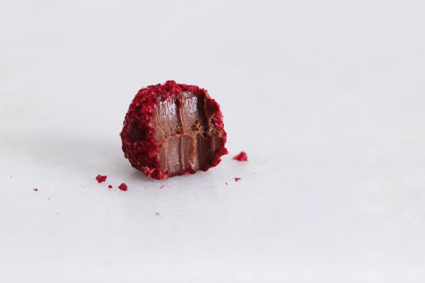 Caramélia mælkechokolade trøfler