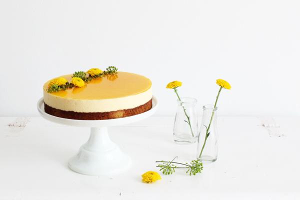 Passionsfrugt moussekage skyr lakrids hvid chokolade