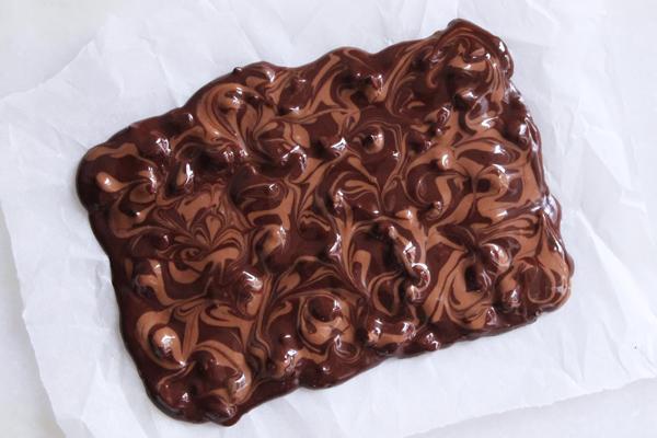 Chokoladebrud med peanuts