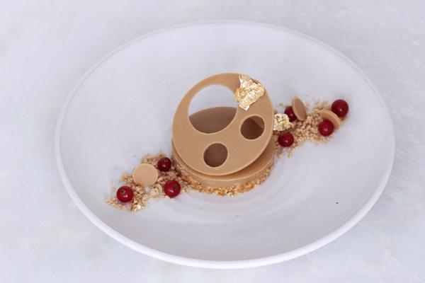 Dulcey-dessert - karamel knas salt ribs