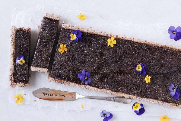 Chokolade brûlée tærte