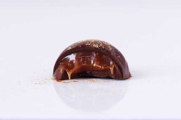 Fyldte chokolader saltkaramel
