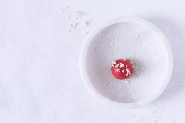 Hindbærsorbet(ispinde)