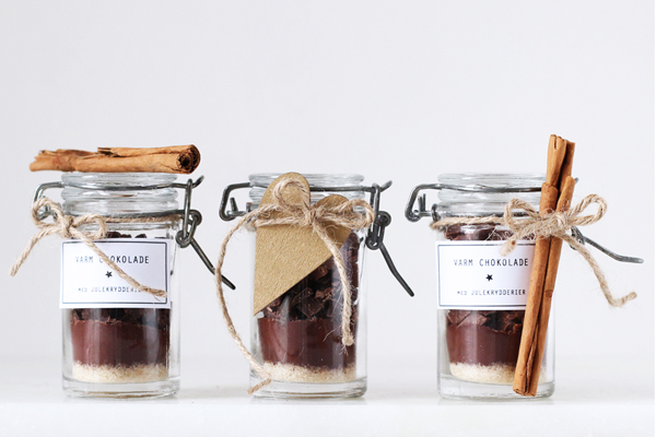 Spiselige julegaver: varm chokolade