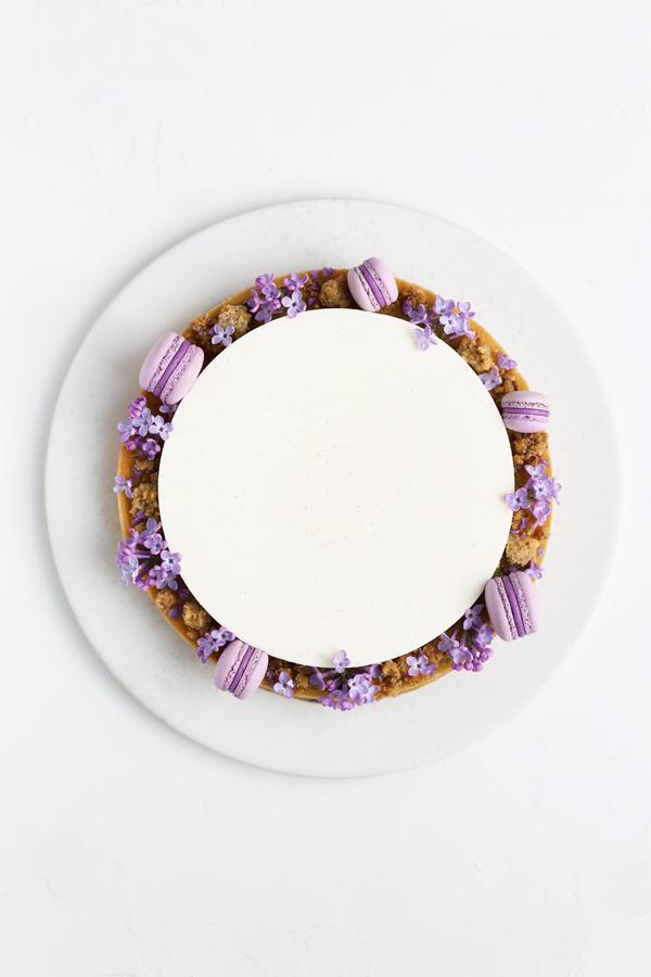 Koldskål mousse tærte