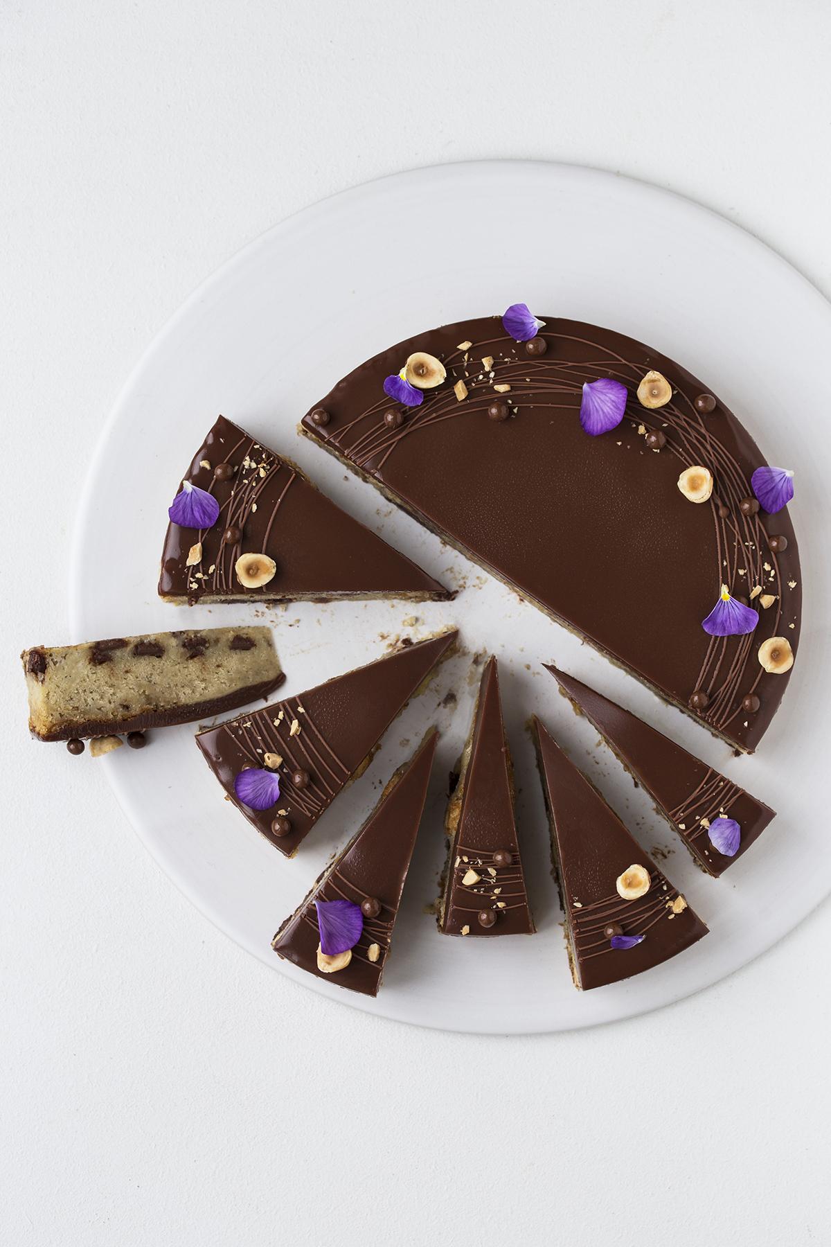Banankage Med Chokolade Maja Vase