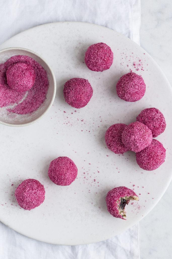 Nytårsdessert: kransekage med kirsebær