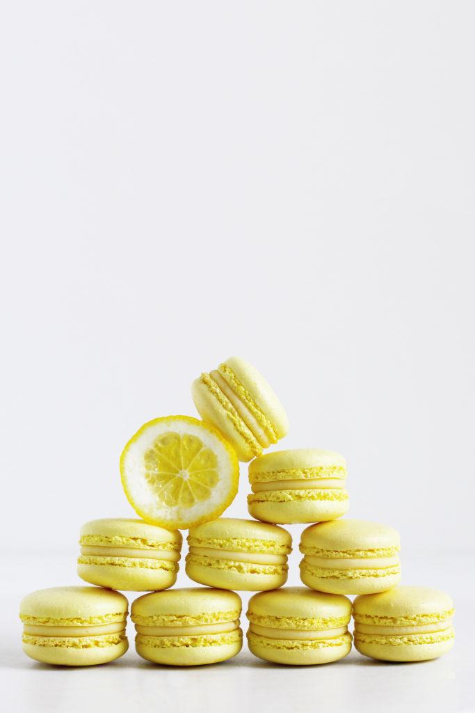 citronmacarons